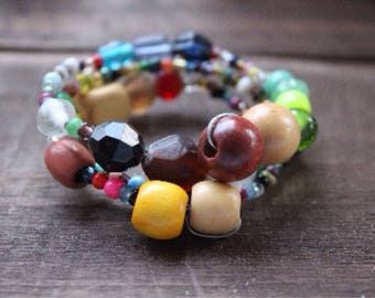 Wrap Me in Color bracelet
