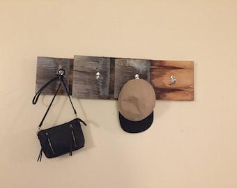 Coat Hanger. Vintage Look made from Cedar Shingles