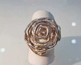 Collection Silver rose Ring