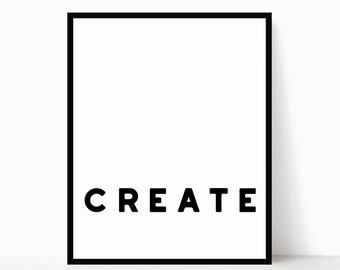 Modern Quote Art - Inspirational Modern Printable - Minimalist Quote Art - Minimalist Wall Art - Office Decor - Inspirational Words