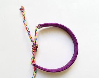 Adjustable wrist bracelet