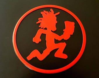 Custom ICP Hatchetman Logo Wall Sign - Insane Clown Posse Twiztid Plaque