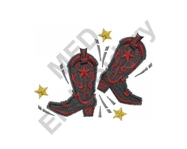 boot embroidery machine