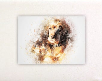 Dog - Watercolor prints, watercolor posters, nursery decor, nursery wall art, wall decor, wall prints 5 | Tropparoba - 100% made in Italy