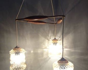 Vintage luster Pendant lamp years 60/70 Special price