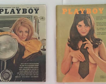 April and May of 1969 issues of Playboy Magazine