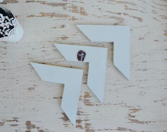 Chevron/ Arrow Wood Cut Out Farmhouse Decor