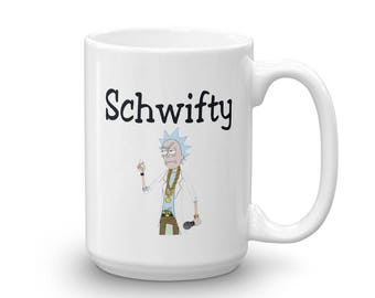 Rick and Morty / Great Gift for Rick and Morty Fans / Rick Sanchez / Mr Meeseeks / Pickle Rick / Funny Rick Sanchez Coffee Cup