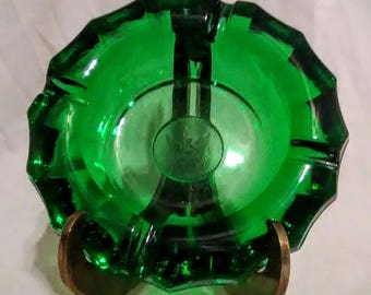 Vintage Fostoria Coin Glass Ashtray