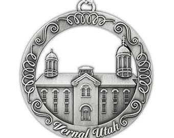 Vernal Utah LDS Temple Ornament - LDS Gifts