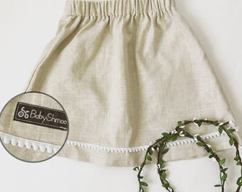 Little linen skirt