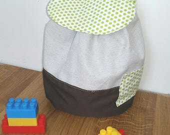 Bag child customizable adjustable straps