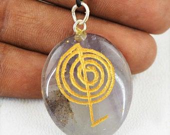 Flat 50% OFF Purple Amethyst Healing Chakra Pendant