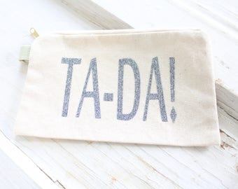 TA-DA Make Up Bag!