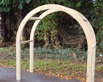 Wooden Double Arch