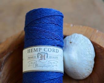 Hemp Cord Blue
