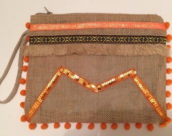 Ethnic chic bohemian bag