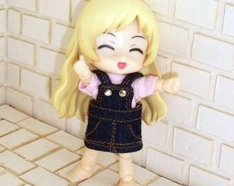 Girly Overalls for Obitsu11 / Cu-Poche