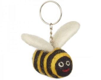 Bee felt Keyring