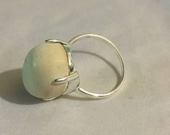 925 Silver and Jasper Ring