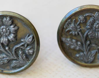 Old Button Cuff Links