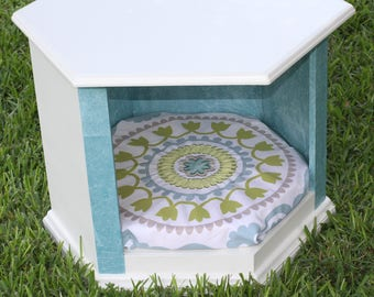 Dog Bed Side Table - One of a kind!