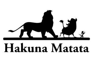 Hakuna Matata Svg Download
