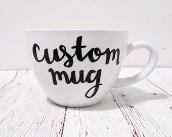 Custom Cappuccino Mug