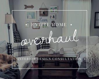 Interior Design Consultation - Entire Home