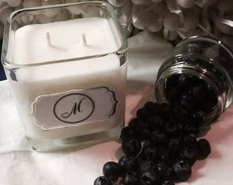 Berry Blue 100% Handmade Soy Candle