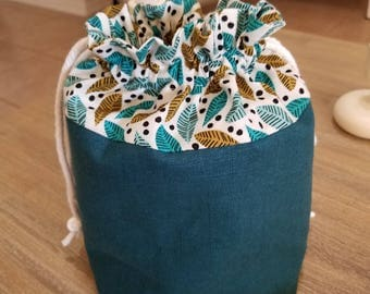 Knitting Project Bag, Project Bag, Crochet Project Bag