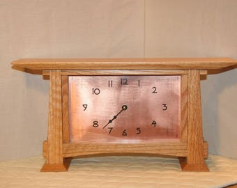 Arts and Crafts Mantle Clock