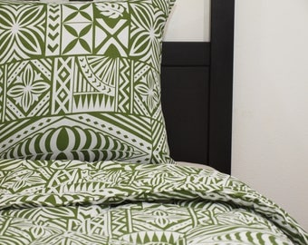 Polynesian Tribal King Comforter & Pillowcases