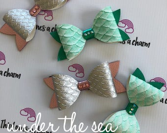 Under The Sea Bow Collection- clips or headbands, baby girl, toddler girl, big girl