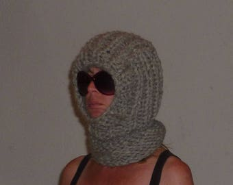 Sheep wool Balaclava slip cap Ichy Scratchy