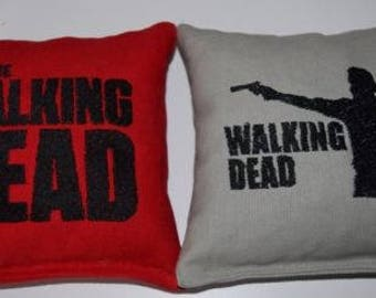 Embroidered The Walking Dead Cornhole Bags Set of Eight - Sweet
