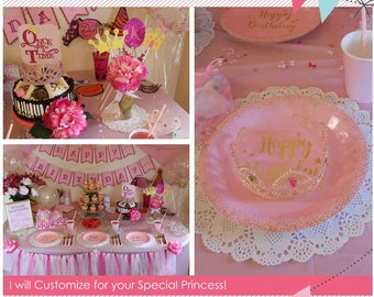 Princess Birthday Party - Fairy Tale Birthday - Complete Birthday Kit