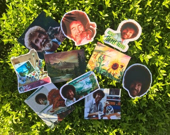 Bob Ross sticker pack