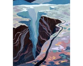 Black Canyon Print
