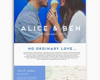 Bespoke wedding website, wordpress website, colourful theme, romantic theme, feminine theme, custom wedding website design, custom domain