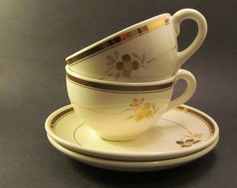 Hycroft China Cup and Saucer Sets