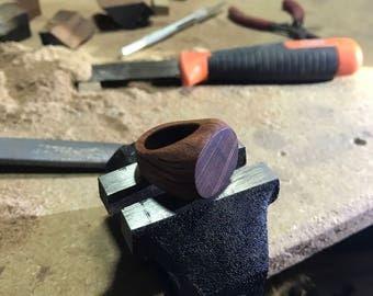 Australian hardwood Forest Oak - handcrafted ring