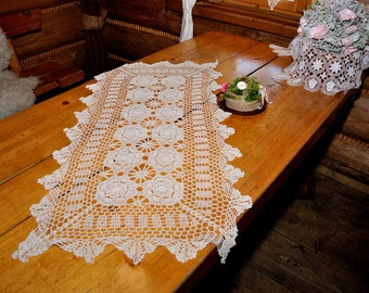 Lace table runner 60*120