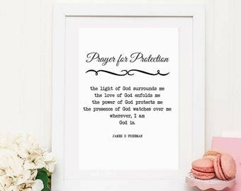 Marriage gift etsy personalized wedding vow protection prayer anniversary gift personalized wedding poem negle Gallery