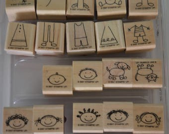 All In The Family Stampin' Up Stamp Set