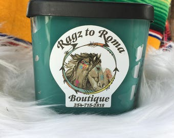 TRIPLE-SCENTED Cowboy Candle | Ragz To Roma| All Different Sizes Available