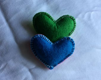 Heart Catnip Toys