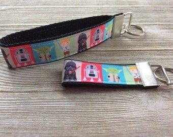 Star Wars Film Strip Key Fob Wristlet and Mini