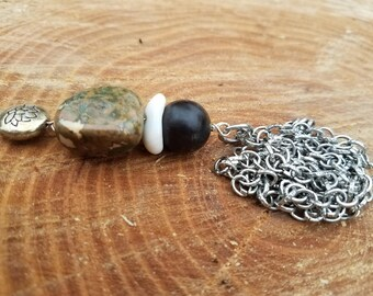 Rainforest Jasper necklace