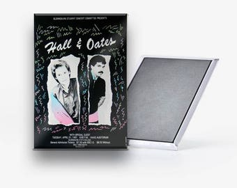 Hall and Oates Concert Poster Refrigerator Magnet 2x3